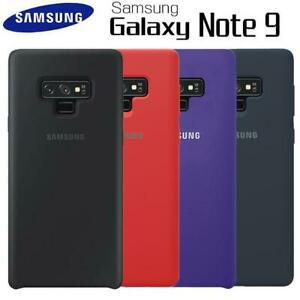 Original Soft-Touch Slim Shockproof Silicone Case For Samsung Galaxy Note 9