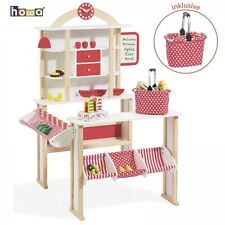 howa Kaufladen / Kaufmannsladen / Kinderkaufladen incl. Einkaufskorb 4751