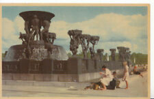 Norway Postcard - The Vigeland's Fountain - Frogner Park - Oslo - Ref 4265A