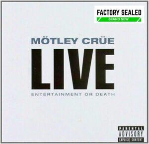 Motley Crue – Live: Entertainment Or Death 2 x CD Set NEW