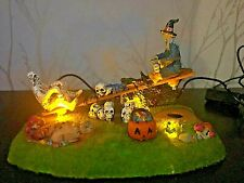 """Lemax Spooky Town """"See Saw Sensation"""" Rare! Retired 2015 Excellent Condition"""