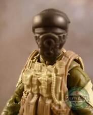 "MH349 Custom Cast head sculpt use w/3.75"" Star Wars GI Joe Acid Rain figures"