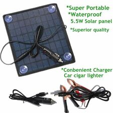 12V 5.5W Smart Car Boat Solar Panel Power Battery Charger for Automobile Motor P