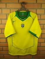 Brazil Jersey 2004 2006 Home MEDIUM Shirt Football Nike Soccer Trikot Maglia