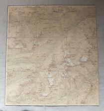 Topographischer  Atlas antike Landkarte Ferwallgruppe 1899