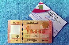 10000 LL Lebanon Bank note 2012 - 2013 LIBAN