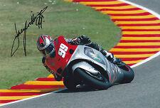 Jeremy McWilliams firmato MotoGP PROTON Team Roberts COLORE FOTO