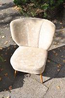 50er 60er Mid Century Sessel  Federkern 50s 60s Coctailsessel Gitarre Stuhl