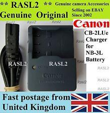 Genuine Canon Caricabatteria CB-2LUE NB-3L Ixus I Ixus i5 700,750, Ixus II, SD20