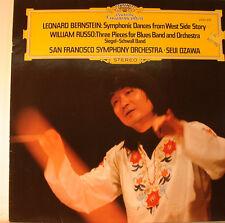 """BERNSTEIN UND RUSSO - SEIJI OZAWA  12"""" LP (L91)"""