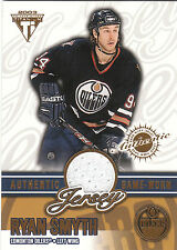 2002/3 Private Stock Titanium Game Used jersey card Ryan Smyth 0991/1052