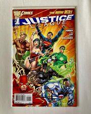 DC Comics - Justice League Vol. 2 #1 - DOUBLE RAW SIGNATURE