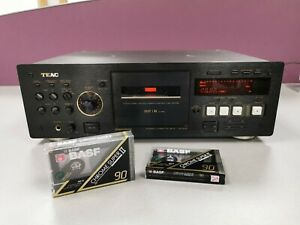 TEAC v-6030S cassette tape deck, with new blank chrome tapes