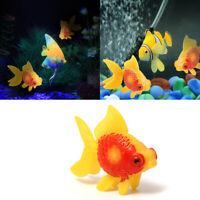 Hot Artificial Aquarium Fish Tank PlasticSwimming Fake Ornament Fast Fish U9G4