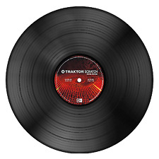 Native Instruments Traktor Scratch Control Vinyl Mk2 Black Music