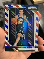2018-19 Panini Prizm Grayson Allen Red White Blue Rookie Refractor HOT!!