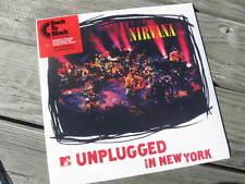 NIRVANA 'unplugged in new york' NEW/SEALED 180GRAM BACK TO BLACK LIVE LP w/DWNLD