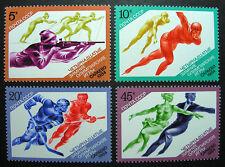 Russia 1984 5222-5225 MNH OG Russian XIV Winter Olympics Sarajevo Set $2.00!!