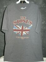 The Rolling Stones Classic Grey North American Tour 1981 XL T-Shirt