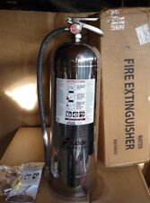 KIDDE Fire Extinguisher Water A, 2A, PRO 2.5 WM part # 466403 Stainless Steel