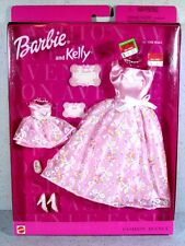 NIB BARBIE DOLL 1999 FASHION AVENUE MATCHIN' STYLES BARBIE AND KELLY AT THE BALL