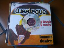 """7"""" RARE ITALY LAMONT DOZIER GOING BACK TO MY ROOTS PART 1/2 COVER FORATA EX/EX+"""