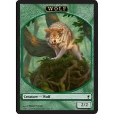 MTG Wolf Token (Wolfbriar Elemental) NM - Conspiracy