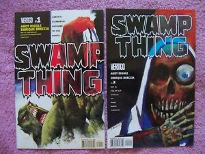 Swamp Thing 1-29 full run!  2004, Andy Diggle, Joshua Dysart, Enrique Brecca