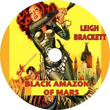 Black Amazon of Mars, Leigh Brackett Sci-Fiction Audiobook unabridged 1 MP3 CD