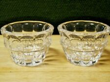 Pair Of Lenox Crystal Candy/Trinket Bowls Czech Republic New With Tags No Box