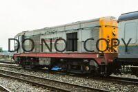 UK DIESEL TRAIN RAILWAY PHOTOGRAPH OF CLASS 20 20901 LOCO. (RM20-468)