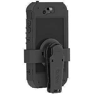 AMS-IPH4S-BK Trident iPhone 4s/4 Kraken II AMS Case with Holster+Belt Clip-Black