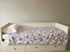 Ikea Hemnes White Day Bed, with 3 Large Drawers and 2 mattresses
