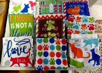 KITCHEN/HAND TOWELS CELEBRATING YOUR FAVORITE CAT OR DOG