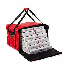 """Pizza Delivery Bag Insulated 18"""" Safe For Hot Food Transporting Cold Box Carrier"""