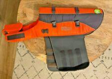 Outward Hound Granby Splash Ripstop Dog Life Jacket, Large, Orange 85-100 lbs