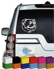 Bulldog Dog Vinyl Car Animal Decal / Sticker / Graphic