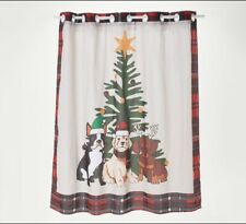 Hookless Holiday Shower Curtain, CHOOSE COLOR