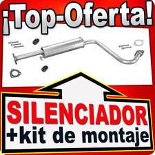 Silenciador Intermedio DAEWOO LANOS (KLAT) 1997-2003 Centro Escape YYM