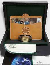 Rolex Cellini 6631 18k Gold 79.5g Ladies Large Watch Box Papers