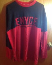 Vintage Enyce sweater Shirt XXl Black And Red Patch Patches