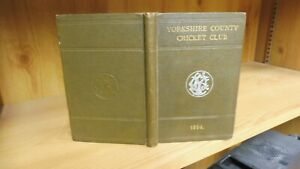 Yorkshire CCC Year Book 1894