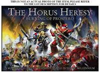 Warhammer 30k Horus Heresy: Burning Prospero separate Units - select one or more
