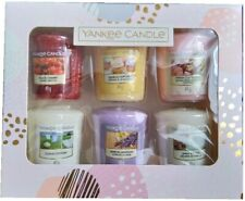 Yankee Candle Six Votive Christmas Present Gift Set 6 Pieces Pack