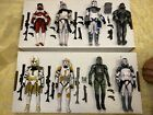 Star Wars Black Series Clone Commander lot