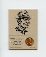 JACK NICKLAUS Golfer 1968 Penny Insert NEVER GO BROKE Trade Card RARE