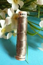 "447BBIS / Superb Coil Drawstring Silk Gutermann Halma "" Brown Grey "" N° 467"