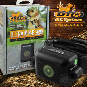 DT Systems Ultra Min-E 2090 Bark Control Mini Dog Collar