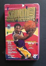 1998-99 Topps Stadium Club Series 1 Basketball Hobby Box Kobe Bryant Auto ?