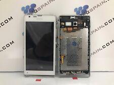 Ecran Usée SONY XPERIA SP ORIGINAL ( C5303 C5302 M35H )LCD+TACTILE+CADRE 24h